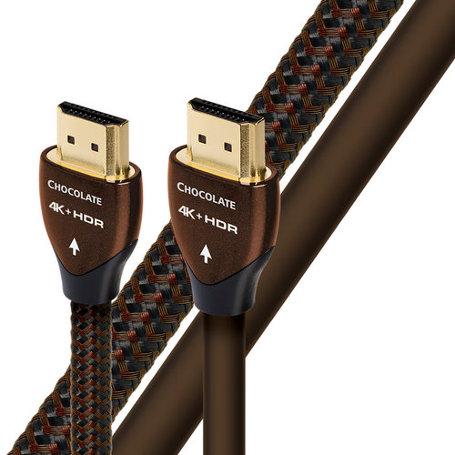 View Larger Image of Chocolate Braided HDMI Cable - 1.97 ft. (.6m)