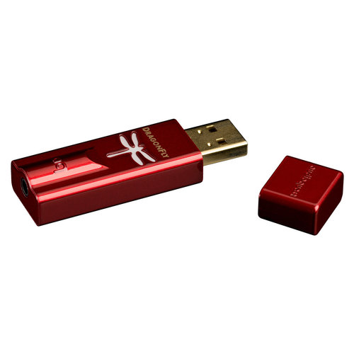 View Larger Image of DragonFly Red v1.0 USB Digital-to-Analog Converter