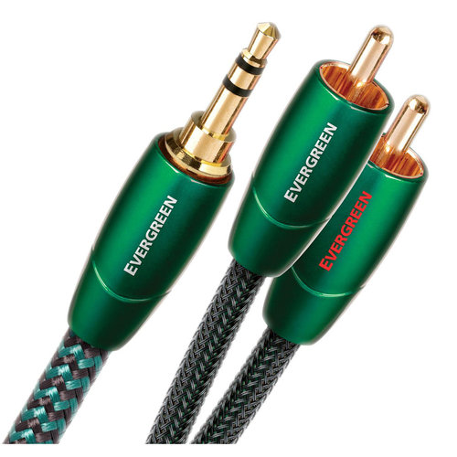 View Larger Image of Evergreen 3.5mm Male to RCA Male Cable - 16.4 ft. (5m)