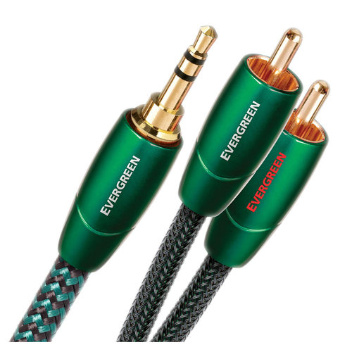 View Larger Image of Evergreen 3.5mm Male to RCA Male - 1.97 ft. (.6m)