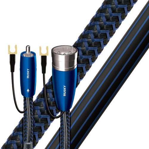 View Larger Image of Husky XLR Male to RCA Male Subwoofer Cable - 9.84 ft. (3m)