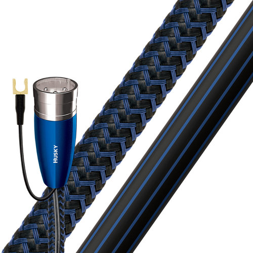 View Larger Image of Husky XLR Male to RCA Male Subwoofer Cable - 26.25 ft. (8m)
