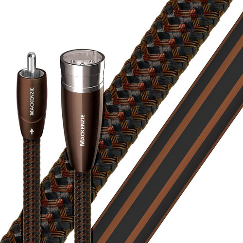 View Larger Image of Mackenzie Male RCA to Male XLR Cable - 6.56 ft. (2m) - 2-Pack
