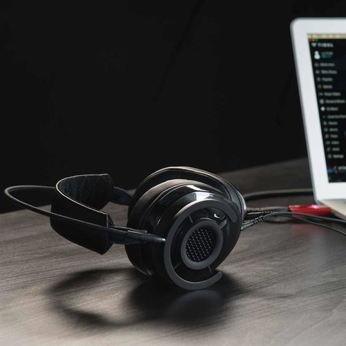 View Larger Image of NightHawk Carbon Over-Ear Semi-Open Headphones (Carbon Grey)