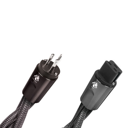 View Larger Image of NRG Dragon High-Current 20-Amp AC Power Cable - 2 Meters