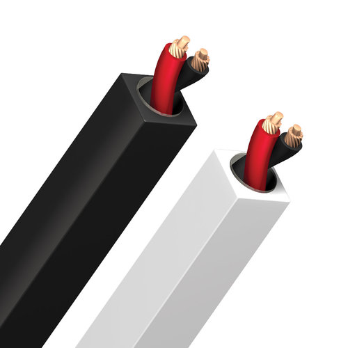View Larger Image of Q2 BFA Silver Prepared Speaker Cables - 10 ft. (3.04m) - 2-Pack