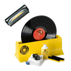 Record Cleaner Brush and Spin-Clean MKII Record Washer Starter Kit Bundle
