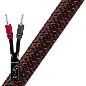 Rocket 33 Full-Range Speaker Cable With 300 Series Silver Banana Plugs - Pair