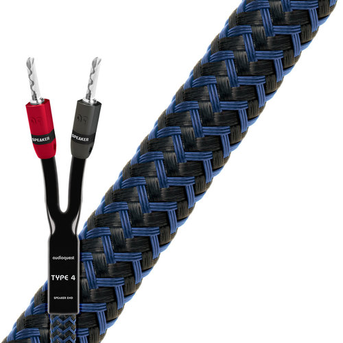 View Larger Image of Type-4 Star Quad Series Speaker Cable - Each (5 feet)