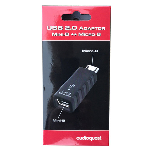View Larger Image of USB Mini to Micro Adapter
