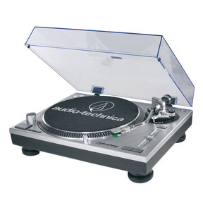 AT-LP120BK-USB Direct-Drive Professional USB & Analog Turntable