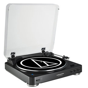 AT-LP60BK-BT Fully Automatic Wireless Belt-Drive Stereo Turntable