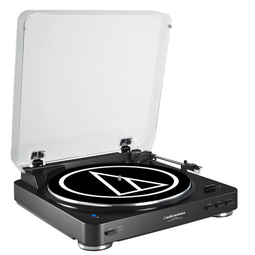 View Larger Image of AT-LP60BK-BT Fully Automatic Wireless Belt-Drive Stereo Turntable