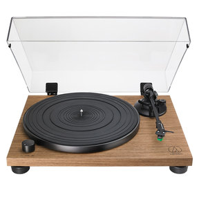 AT-LPW40WN Fully Manual Belt-Drive Turntable (Walnut)
