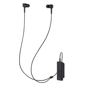 ATH-ANC100BT QuietPoint Wireless Active Noise-Cancelling Earbuds (Black)