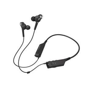 ATH-ANC40BT QuietPoint Active Noise-Canceling Wireless In-Ear Headphones (Black)