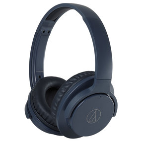 ATH-ANC500BT QuietPoint Wireless Active Noise-Cancelling Over-Ear Headphones with Built-In Remote and Microphone