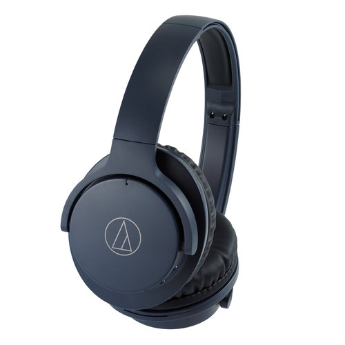 View Larger Image of ATH-ANC500BT QuietPoint Wireless Active Noise-Cancelling Over-Ear Headphones with Built-In Remote and Microphone