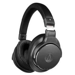 ATH-DSR7BT Wireless Over-Ear Headphones with Built-In Microphone (Black)
