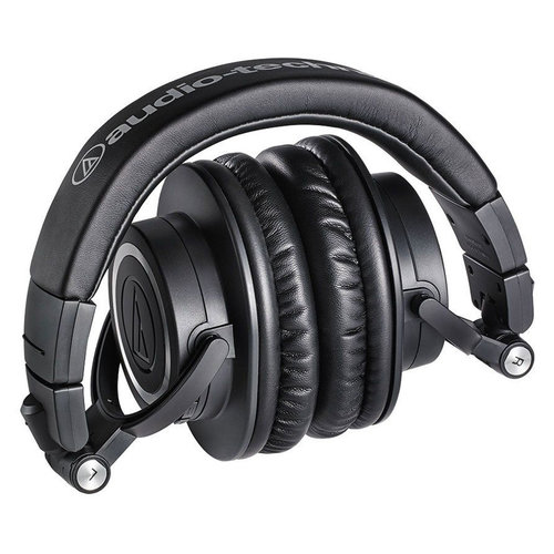 View Larger Image of ATH-M50xBT Wireless Over-Ear Headphones with Built-In Remote and Microphone (Black)