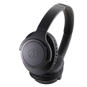 ATH-SR30BT Wireless Over-Ear Headphones with Built-In Microphone and Controls