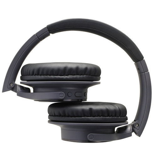 View Larger Image of ATH-SR30BT Wireless Over-Ear Headphones with Built-In Microphone and Controls