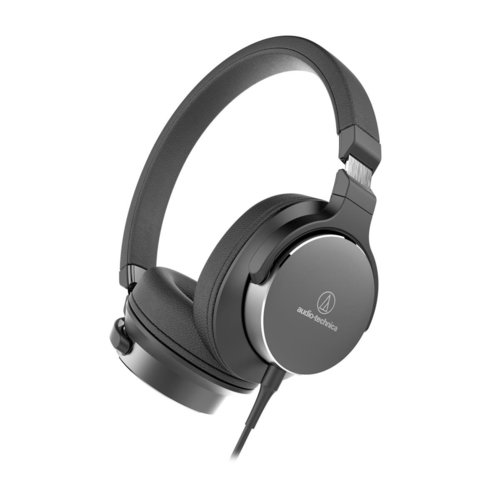 View Larger Image of ATH-SR5BK  On-Ear High-Resolution Audio Headphones (Black)