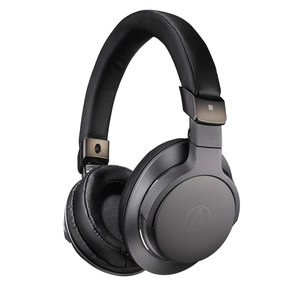 ATH-SR6BTBK Wireless Over-Ear High-Resolution Headphones with In-Line Remote and Microphone (Black)