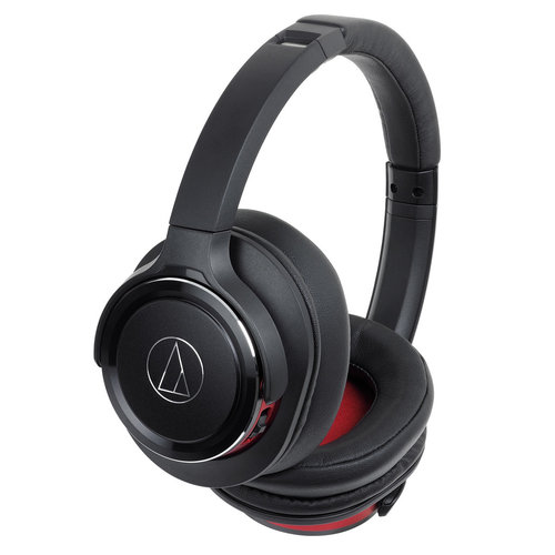 View Larger Image of ATH-WS660BT Solid Bass Wireless Over-Ear Headphones with Built-In Microphone and Remote