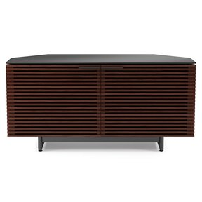 Corridor 8175 TV Stand (Chocolate Stained Walnut)