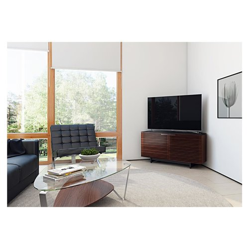 View Larger Image of Corridor 8175 TV Stand (Chocolate Stained Walnut)