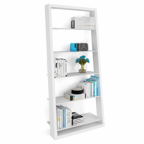 View Larger Image of EILEEN BLANC Leaning Shelf 5157 (Satin White)