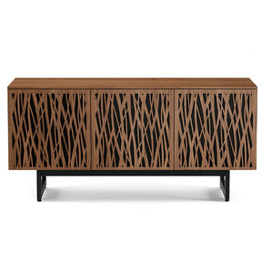 Element 87770-ME Media Cabinet (Wheat/Walnut)