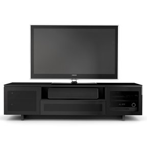 """Nora 8239-Slim Quad Wide Cabinet for TVs up to 82"""""""