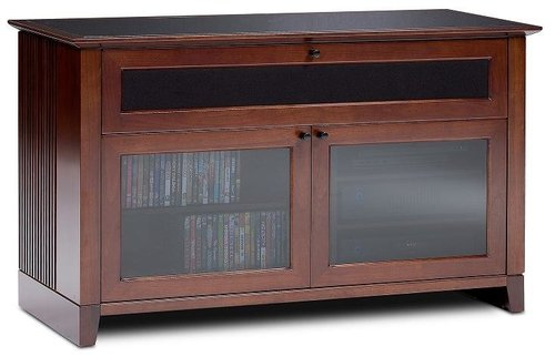 """View Larger Image of Novia 8426 Double Wide Enclosed Cabinet for TVs up to 55"""""""