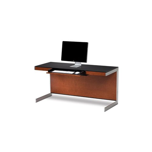 View Larger Image of Sequel 6001 Desk (Natural Cherry)