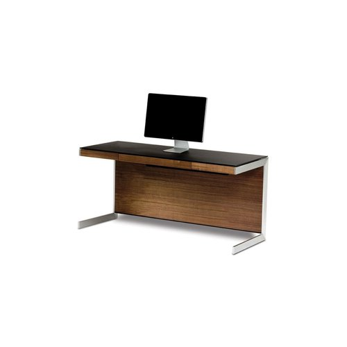 View Larger Image of Sequel 6001 Desk (Natural Walnut)