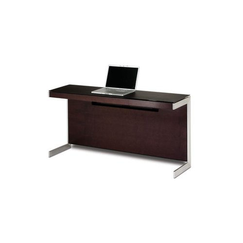 View Larger Image of Sequel 6002 Return Desk (Espresso Oak)