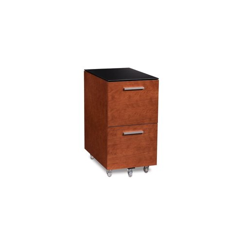 View Larger Image of Sequel 6005 Tall Mobile File Pedestal (Cherry)
