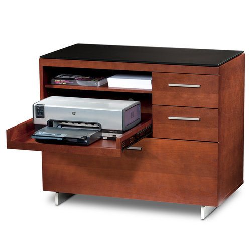 View Larger Image of Sequel 6017 Multifunction Cabinet (Cherry)