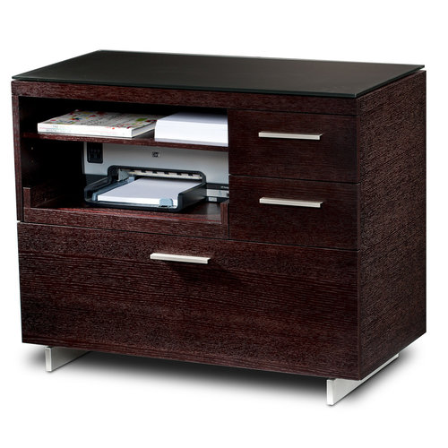 View Larger Image of Sequel 6017 Multifunction Cabinet (Espresso)