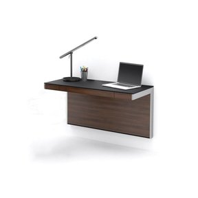 Sequel Wall Desk (Chocolate Stained Walnut)
