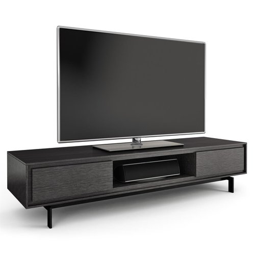 View Larger Image of Signal 8323 Triple Wide Enclosed TV Cabinet (Graphite)
