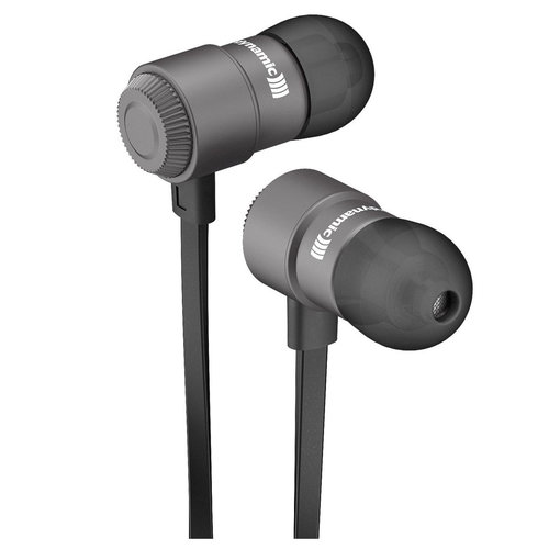 View Larger Image of Byron Bluetooth In-Ear Headphones with Three-Button Remote and Mic (Black)