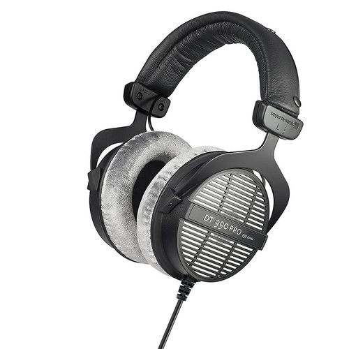 View Larger Image of DT 990 PRO Open Over-Ear 250 Ohm Stereo Headphones (Black/Gray)