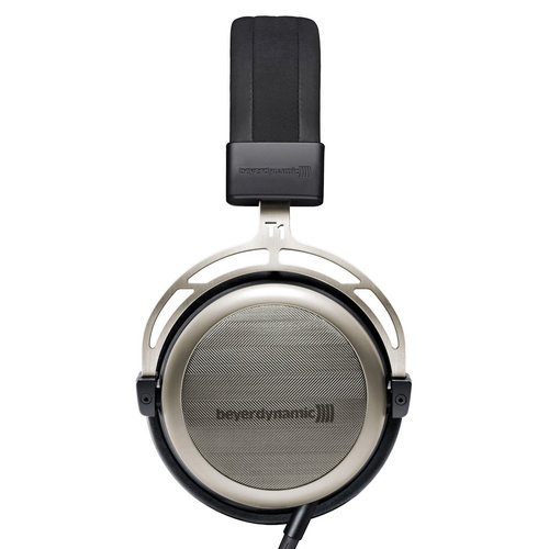 View Larger Image of T1 Tesla Audiophile Semi-Open Stereo Headphone - 2nd Generation (Black/Silver)