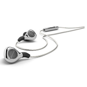 Xelento Remote Audiophile Tesla In-Ear Headphones with Three-Button Remote and Mic (White)