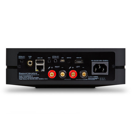 View Larger Image of POWERNODE 2i (with HDMI) Wireless Multi-Room Music Streaming Amplifier