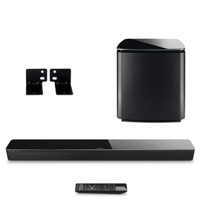 3.1 SoundTouch 300 Soundbar Package with Acoustimass 300 Wireless Subwoofer & WB-300 Wall Bracket