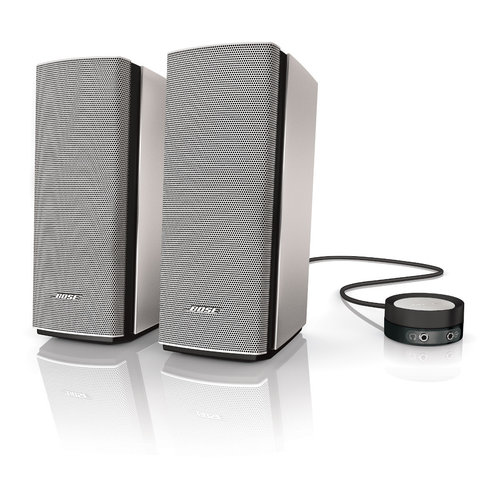 View Larger Image of Companion 20 Multimedia Speaker System (Silver)